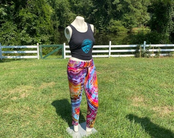 Tie Dye Lounge Pants   Tie Dye Geode Pants   Boho Clothes   Hippie Clothing   Hand Dyed Tie Dye Clothing