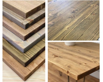DIY // Solid Pine Table Top
