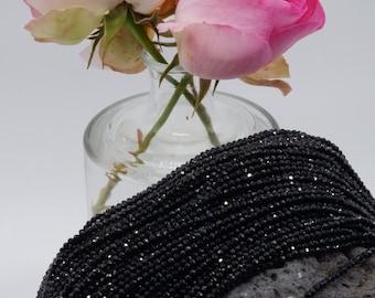 145 Glas schliff facettierte Perlen Rondelle Abakus Kristall Ozean grün 3*4 mm