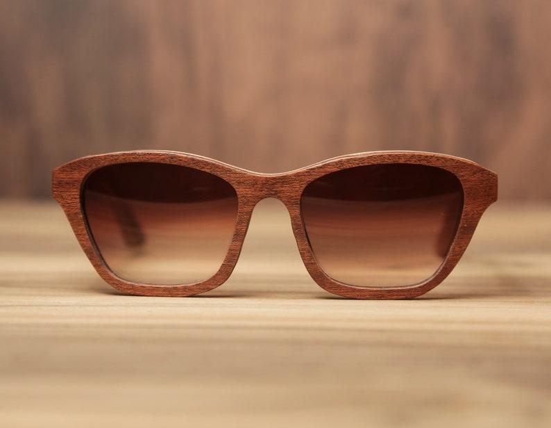 Wood Glasses Erotic Sapeli Wood Prescription Frame Wood Frame |Custom Sunglasses Wooden Sunglasses Exclusive Wood Specs