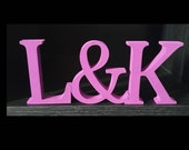 Free standing MDF letters (painted)