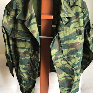 Original Russian Army VSR-98 Flora Camouflage WINTER PANTS with Suspenders