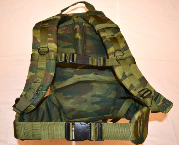 Russian Army backpack 35L SPN EMR Digi flora camo spetsnaz nylon durable NEW army issue 2011 new 4 pockets