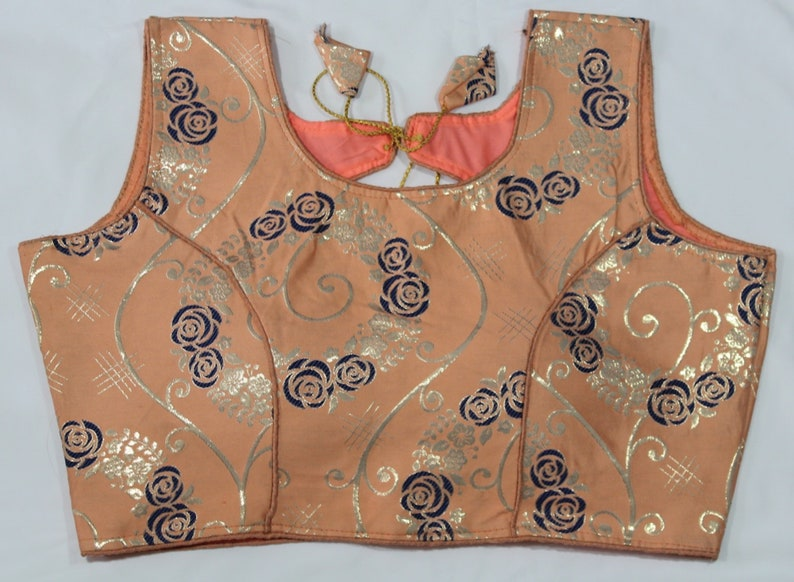 Free Shipping Sari Blouse Size 40 Stitched Indian Blouse for Women Readymade Designer Saree Blouse