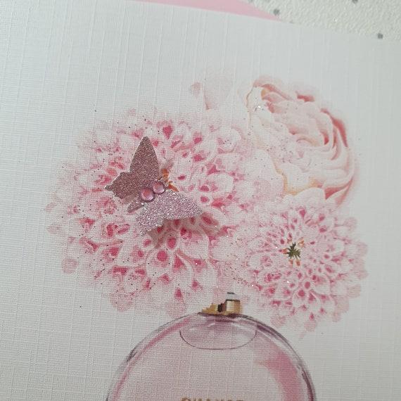 Grandma Handmade Personalised Butterfly Birthday Card Daughter Wife Sister