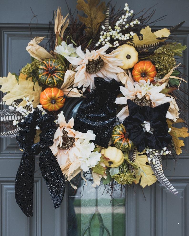 Black Velvet Sparkle Scrunchie with Removable Tie Celeste Scrunchie