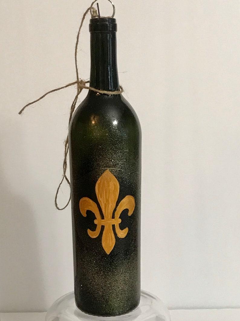 Saints  Fleur De Lis  Incense Bottle