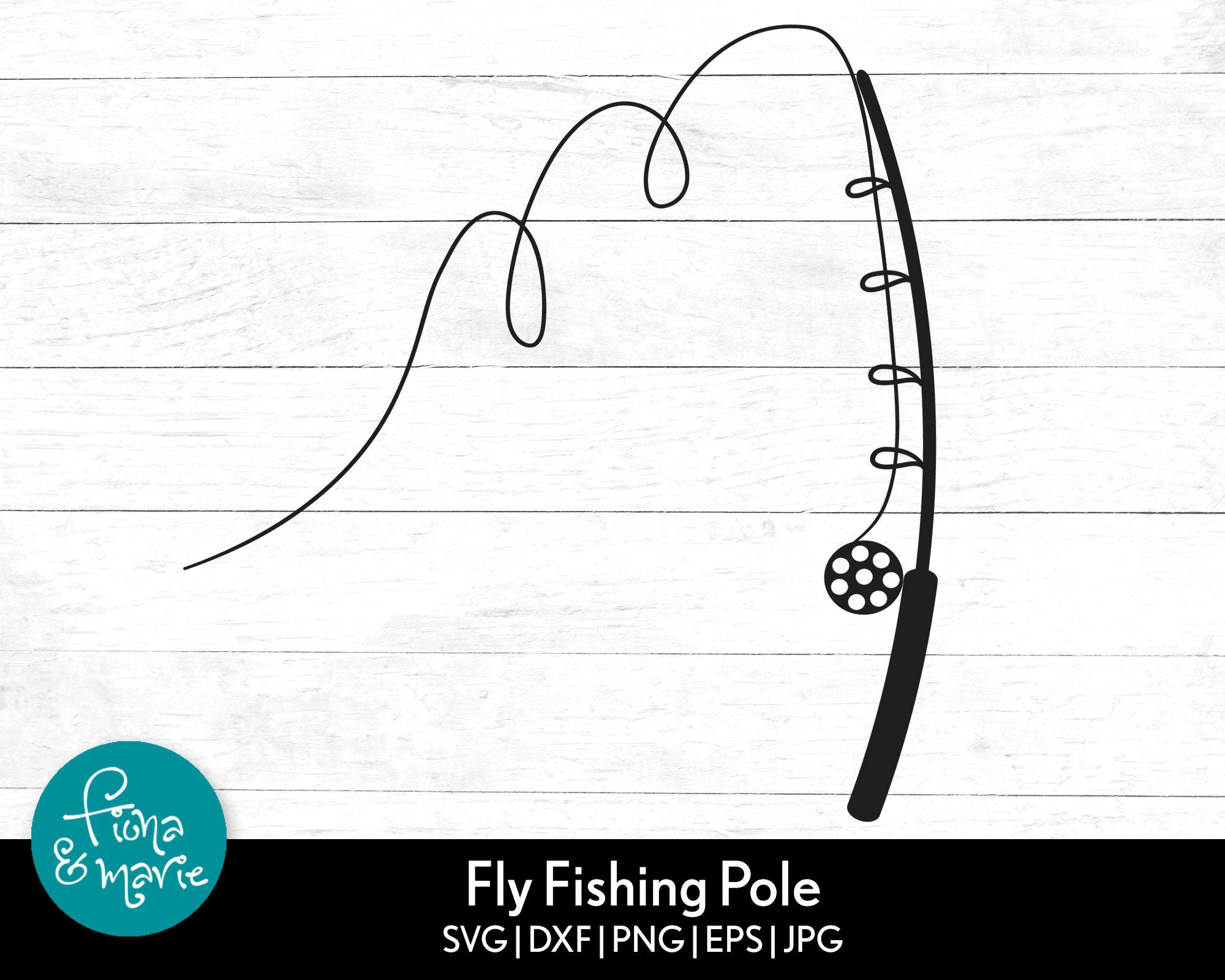 Download Fly Fishing Pole Svg Fishing Svg Svg Png Jpg Eps Etsy