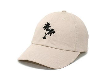 Mens Womens Dad Hats I Love Florida Ocean Palm Trees Snapback Casual Caps
