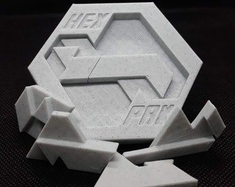 Hex Pak - Two Layer Packing Puzzle