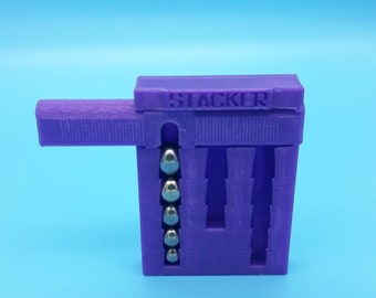 Stacker - Swapping Marble Challenge