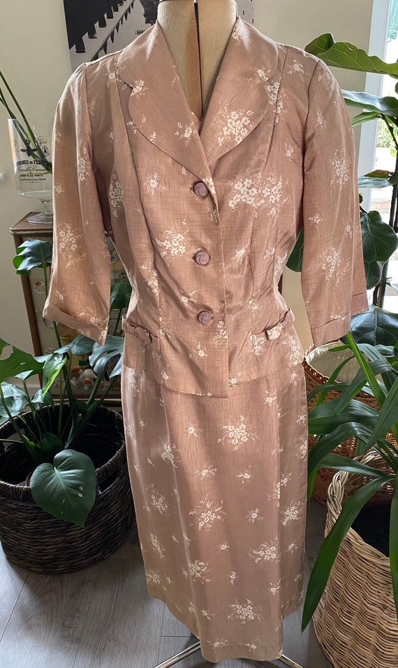 Vintage 1940s Dress and Jacket