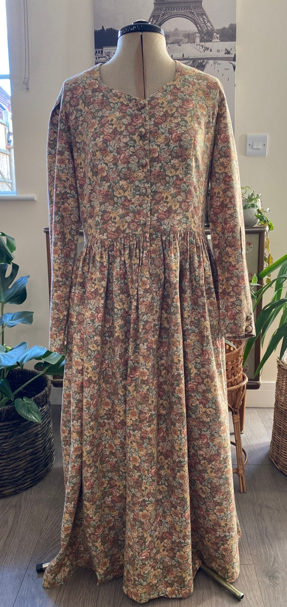 Vintage Winter Laura Ashley Dress