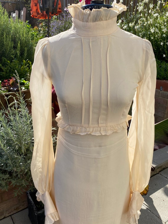 Vintage 1970s Quad Dress