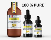 Lemon Essential Oil Bulk 100 Pure for Soap, Candle, Incense, Skin and Hair Care, Potpourri, Natural Aromatherapy Lemon Oil