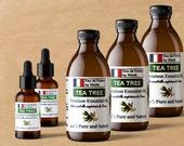 Tea Tree Oil Australian Essential Oil 100 Pure for Soap, Candle, Incense, Skin and Hair Care, Potpourri,Natural Aromatherapy Tea Tree Oil
