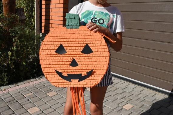 Large Pinata Ready to ship Baby Shower Pinata Pull String Pumpkin Pinata It/'s a..Gender Reveal Pumpkin Pinata Gender Reveal