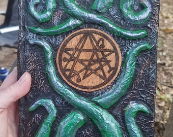 Altered Journal with Tentacles and Elder Sign