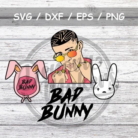 Bad Bunny Cut Files Bundle Etsy