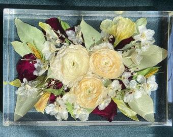 Custom Bridal Bouquet Preservation, Wedding Keepsake, Wedding Gift, Dried Wedding Flowers, Bride, Bridesmaid Gift-DEPOSIT