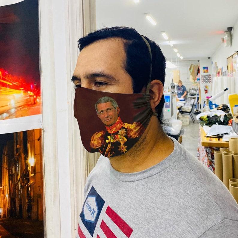 Fauci Face Mask  Dr Fauci Face Mask Fauci Swag Fauci 2020 image 1