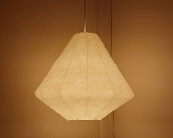 Conical type pendant light shade Japanese paper lamp shade