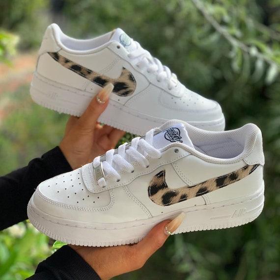 nike air force 1 leopard