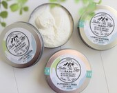 All Natural Whipped Body Butter, Vegan Friendly, Essential Oil Body Butter