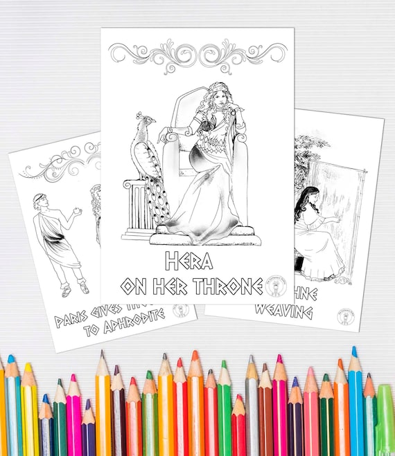 Ancient Greek Gods & Goddesses Facts For Kids   659x570