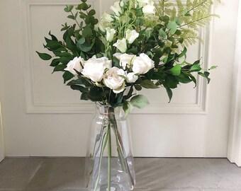 Faux Flower Bouquet Etsy