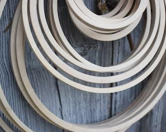 Holzrahmen Reifen Bambus Ring Hand Bestickt Kranz Kreuzstich Basteln DIY