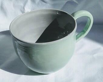 Getöpferte tasse | Etsy