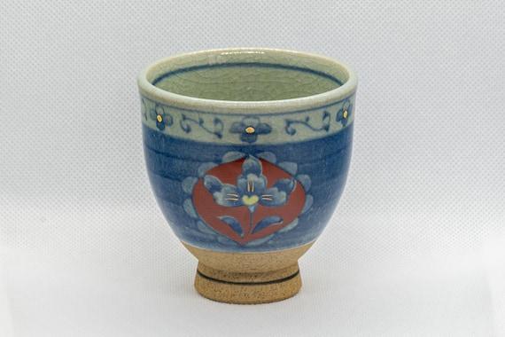Vintage \u6e05\u79c0 Kiyohide Kiln Arita Ware Floral Blue And White Ceramic Bowl Made in Japan
