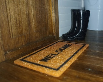 Dollhouse Miniature 1:12 scale Welcome Mat