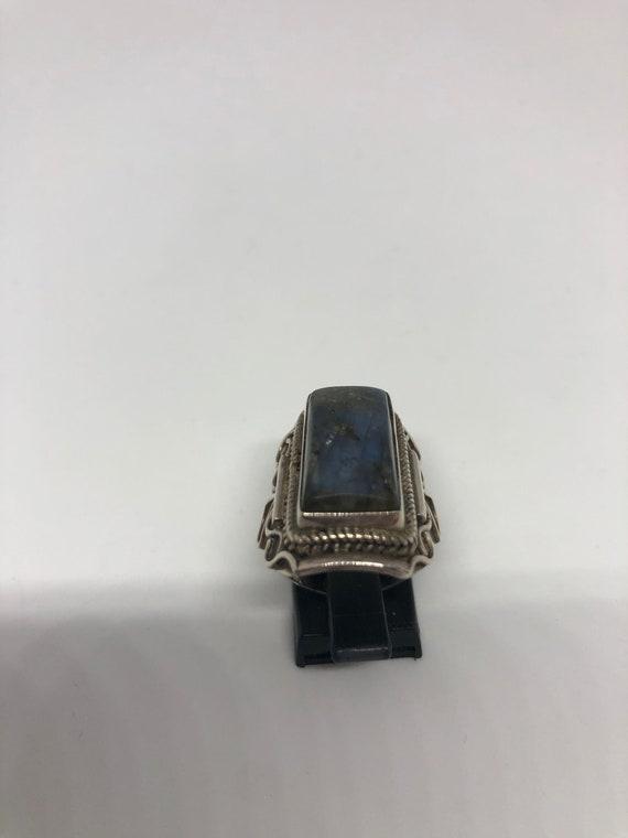 circa 1970 Magnificent  Labradorite ring