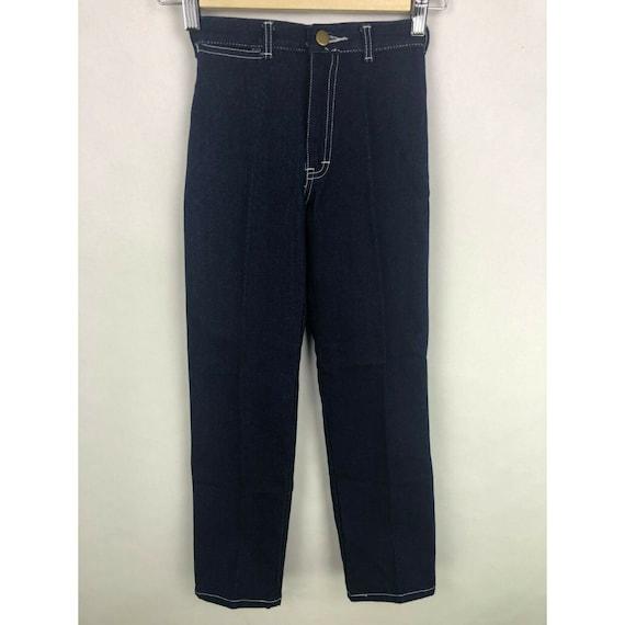 Vtg NWT Chemin De Fer Jeans Youth Size 7 High Wais