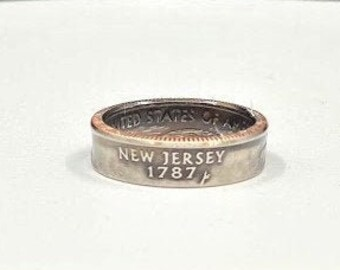 New Jersey State Quarter Ring