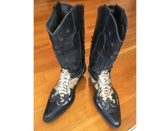 Winter Leather Boots Steampunk Boots Mens Wear Shoes For Men Cowboy Boots Work Boots Custom Printed Boots Combat Boots Mens Fashion