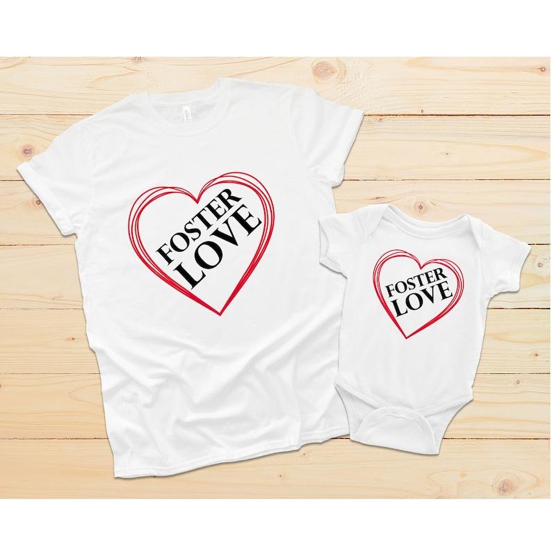 Foster Mom Shirt Foster Love Onesie Foster Love Shirt Foster Parents Shirt Foster Care Shirt Fostering Clothes