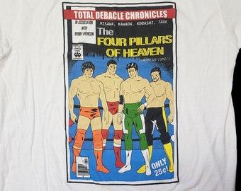 AJPW Four Pillars of Heaven shirt