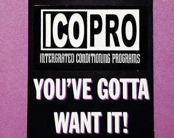 "ICO PRO 2"" enamel pin"