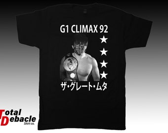 Great Muta 92 G1 Climax shirt