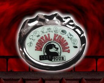 Mortal Kombat Live Tour glow in the dark amulet pin