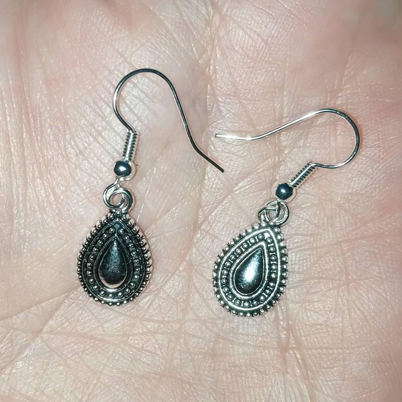 925 Hypoallergenic Minimalist Simple Earrings Sterling Silver Plated Earrings Dainty Earrings Handmade Minimalist Earrings