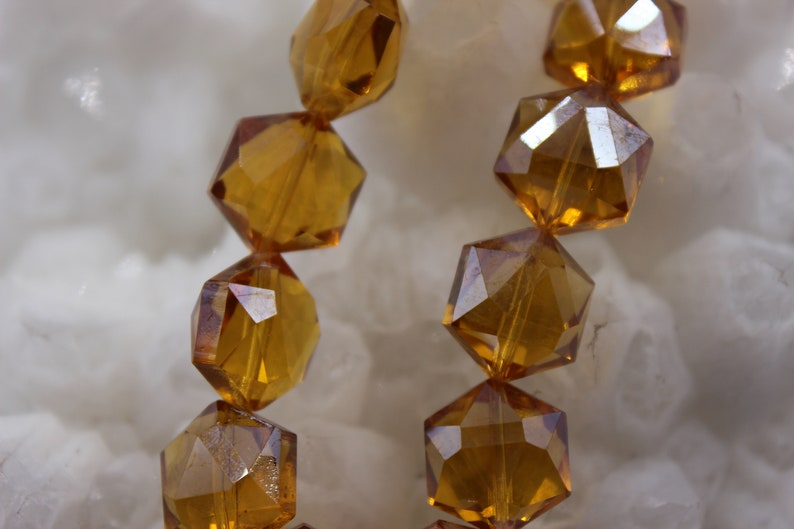 Crystal Beads 14x16mm Beading Suppliers 10 beads Faceted Crystal Beads Glass Beads