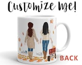 Best Friend Mug   Christian Mug   Better Together   Christian Friend Gift   Customize Me