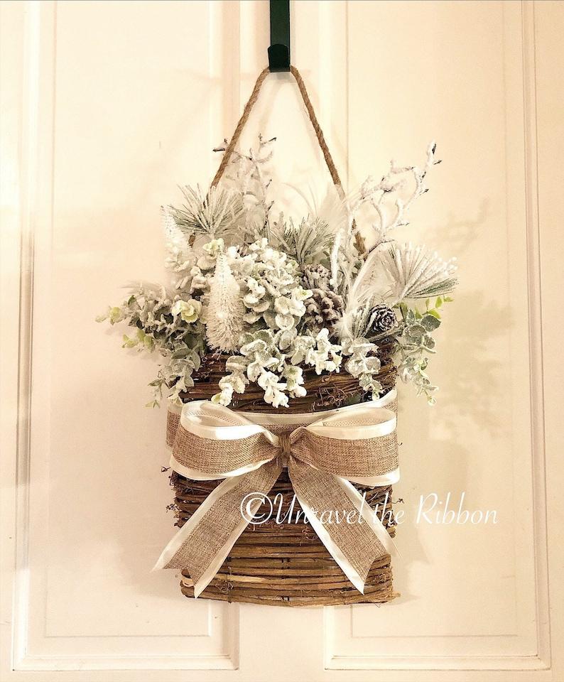 Wintery Basket