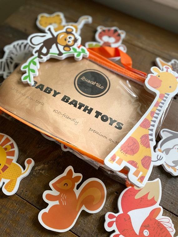 ZM Baby Bath Toys, Animal Toys for Bath Time, Premium Foam