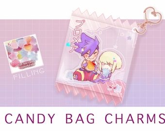 Promare Lio Galo Candy bag charm