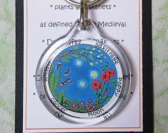 Capricorn Star Sign Keyring Doctrine of Signatures BirthdayAstrology